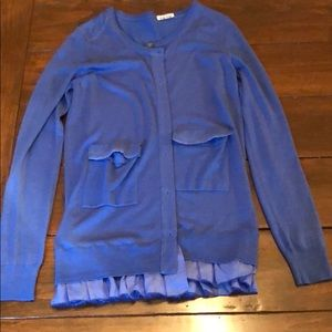 Miu miu blue cardigan